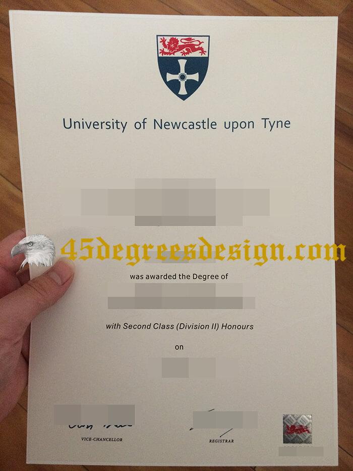 Newcastle University diploma