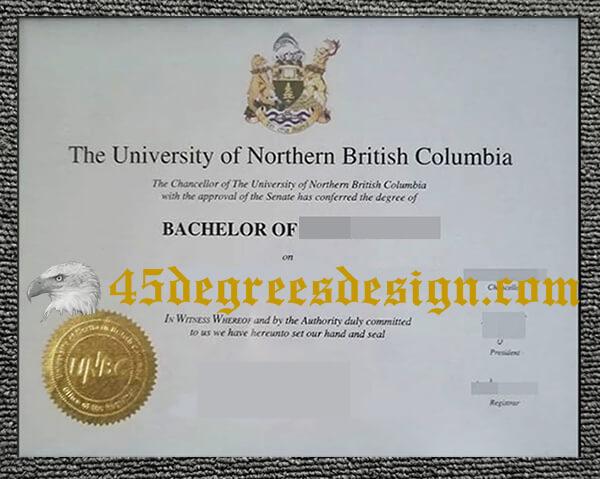 UNBC diploma