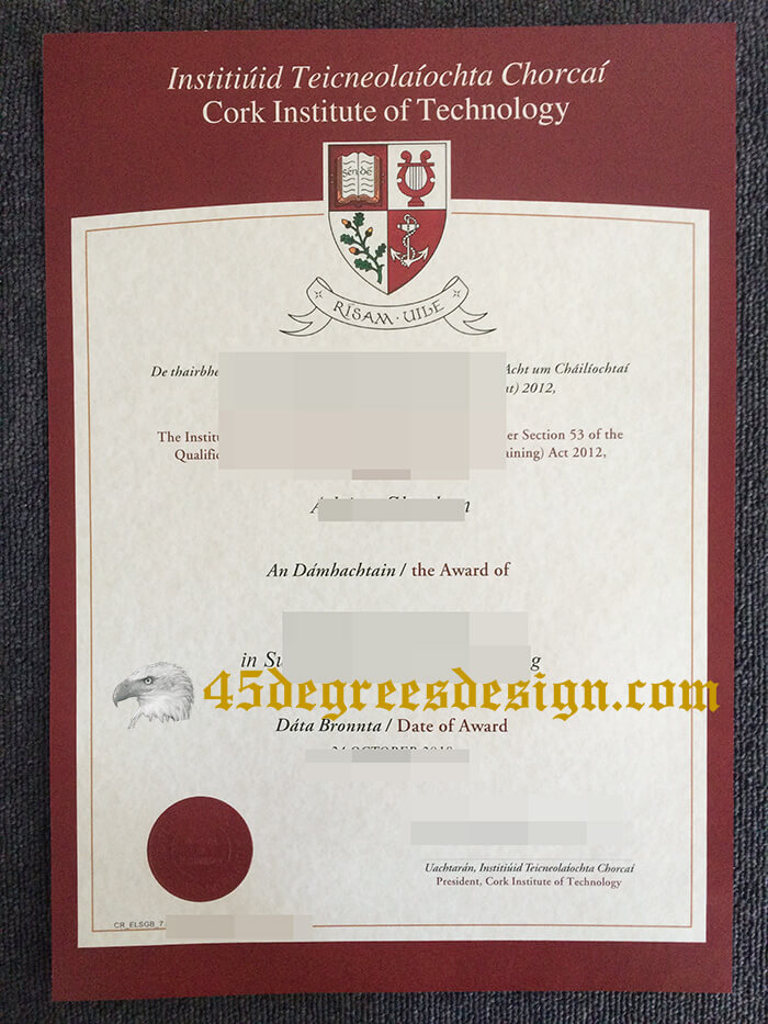 Cork Institute of Technology diploma