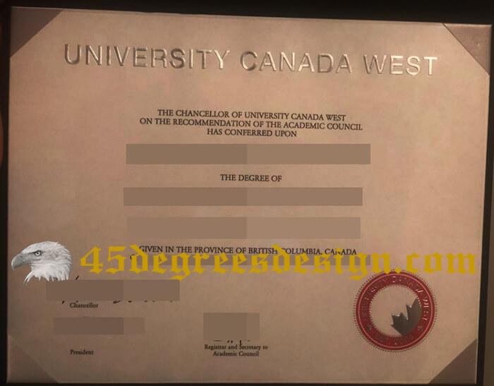 University Canada West Diploma