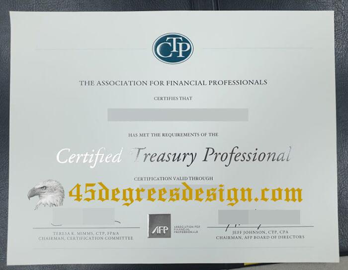 CTP Certificate