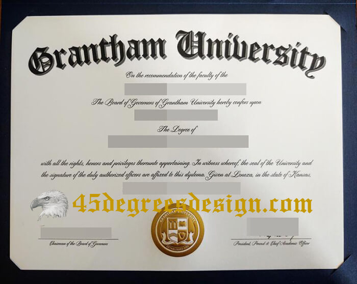 Grantham University diploma