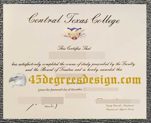 Central Texas College diploma