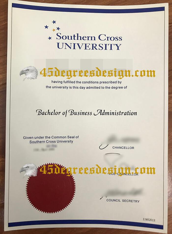 Southern Cross University diploma