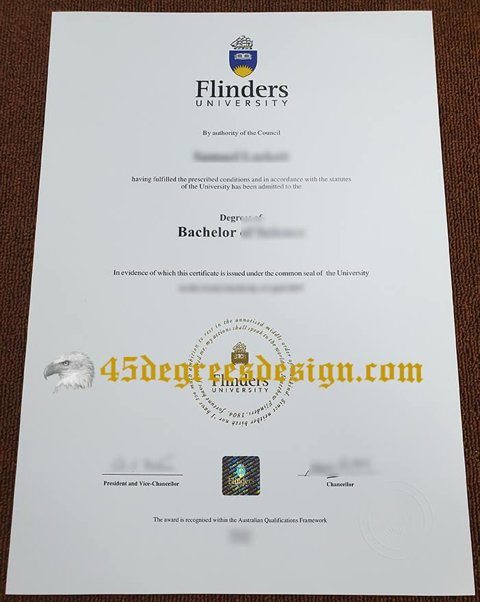 Flinders University bachelor degree