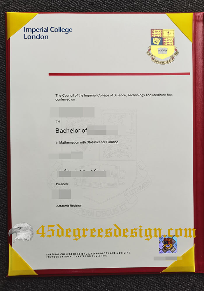 Buy fake Imperial College London diploma
