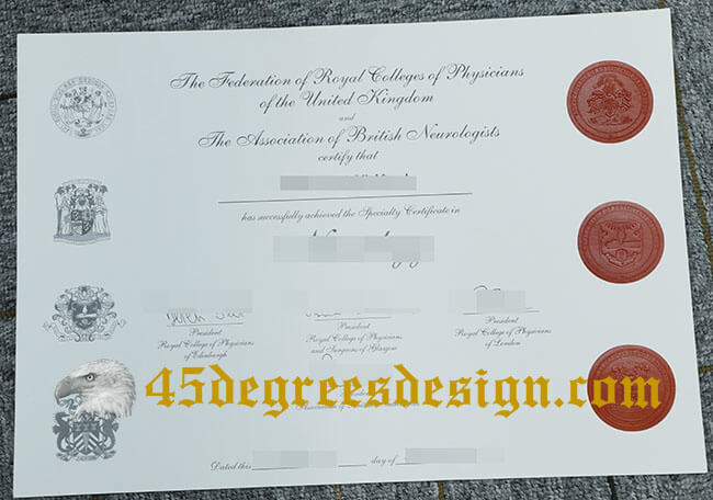 FRCP certificate