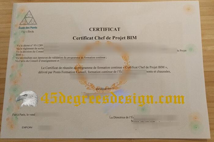 Fake École Des Ponts Certificat