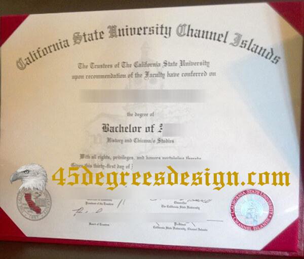 CSUCI diploma