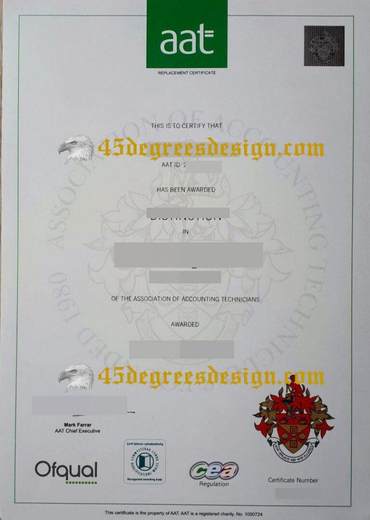 AAT Certificate