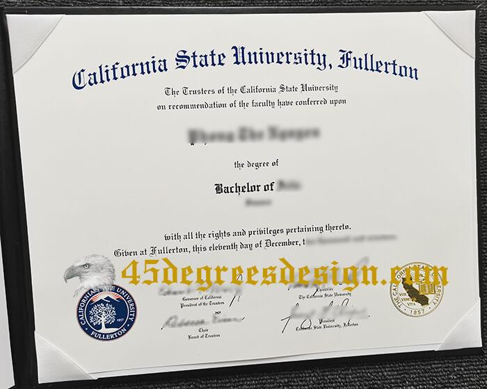 CSUF degree