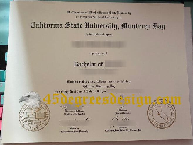 CSUMB fake diploma