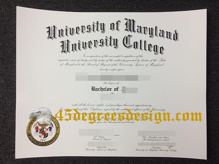 UMGC diploma, UMGC degree