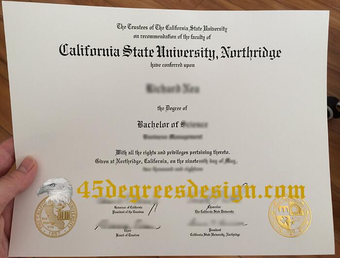 CSUN diploma