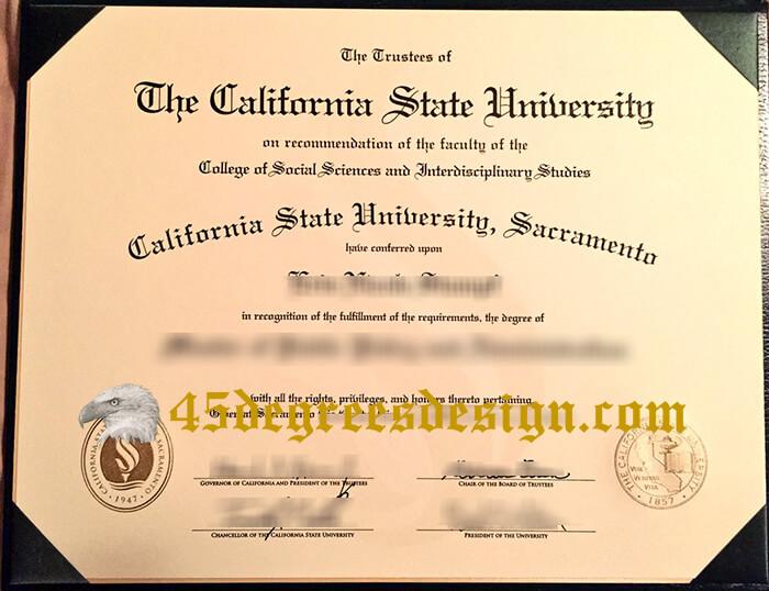 CSUS diploma
