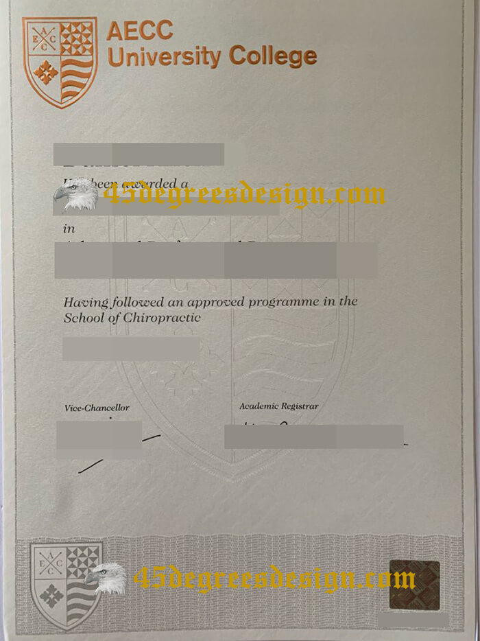 AECC University College diploma, buy a diploma