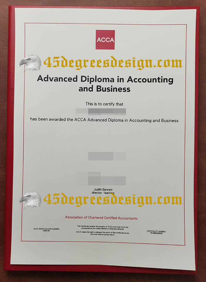 fake advanced diploma in accounting and business