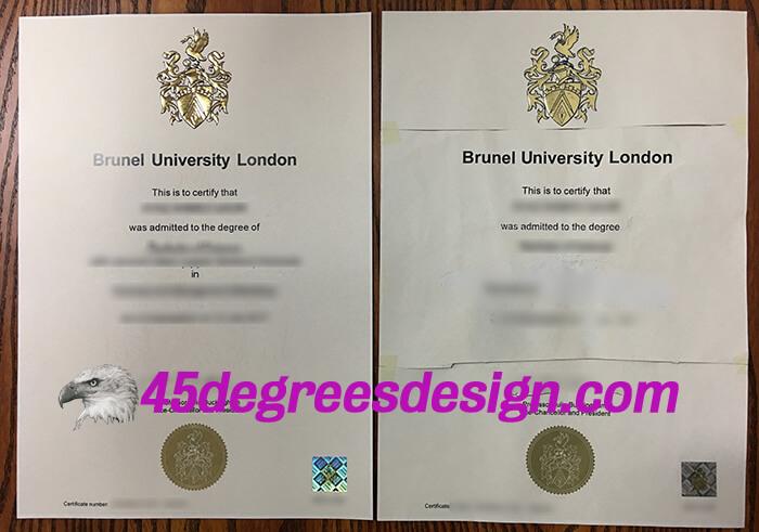 Brunel University London degree