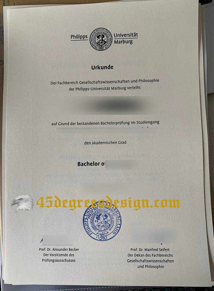 Buy fake University of Marburg diploma, Copy a  fake Philipps-Universität Marburg degree