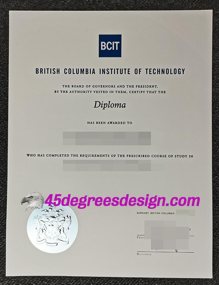 Buy BCIT diploma
