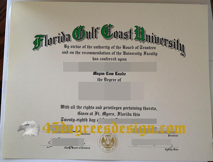 FGCU degree