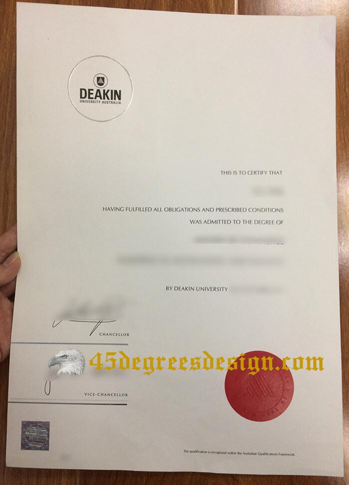 Deakin University degree