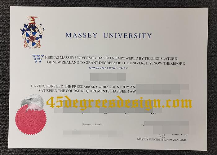 Massey University diploma, buy fake degree