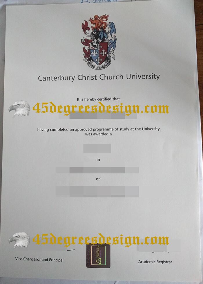 CCCU degree