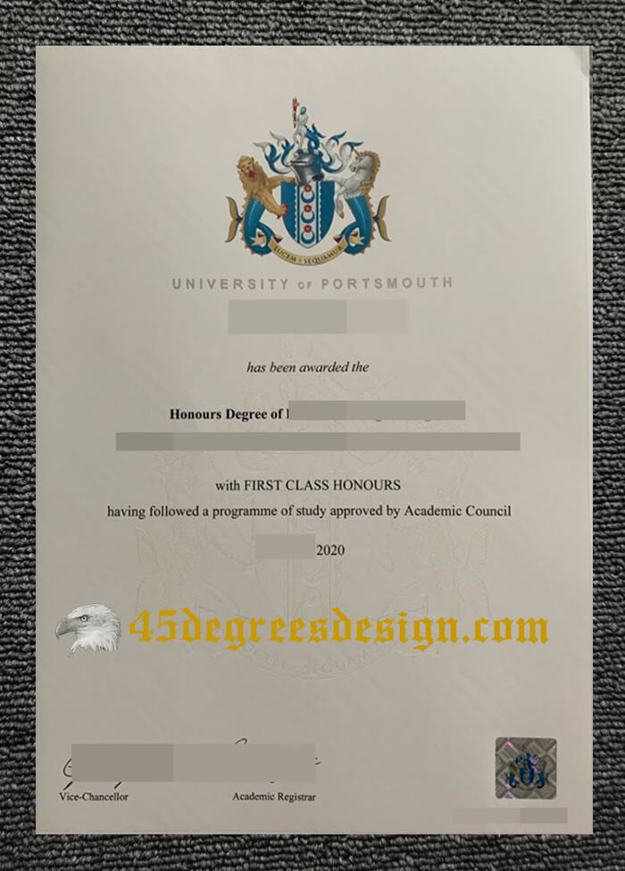 University of Portsmouth degree