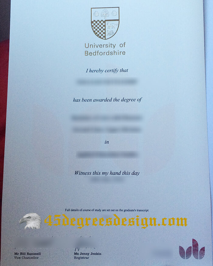University of Bedfordshire diploma