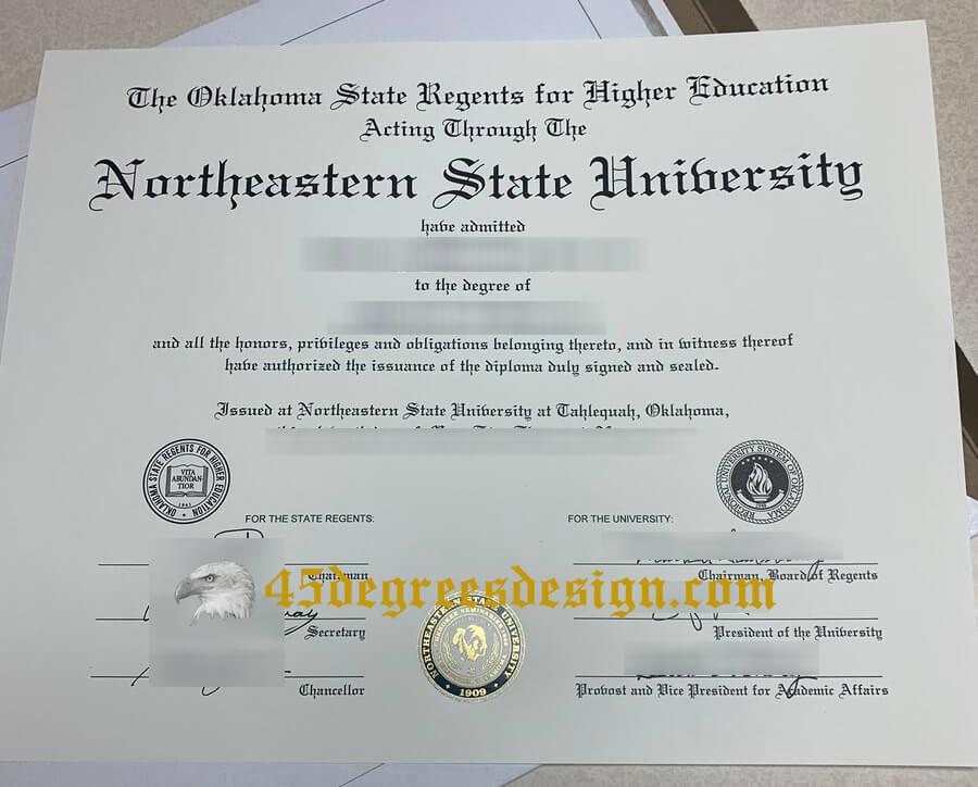 Northeastern State University  Diploma