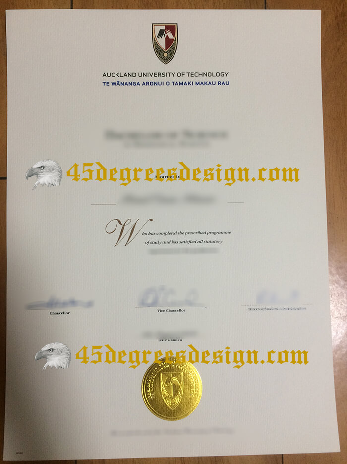 Auckland University of Technology diploma
