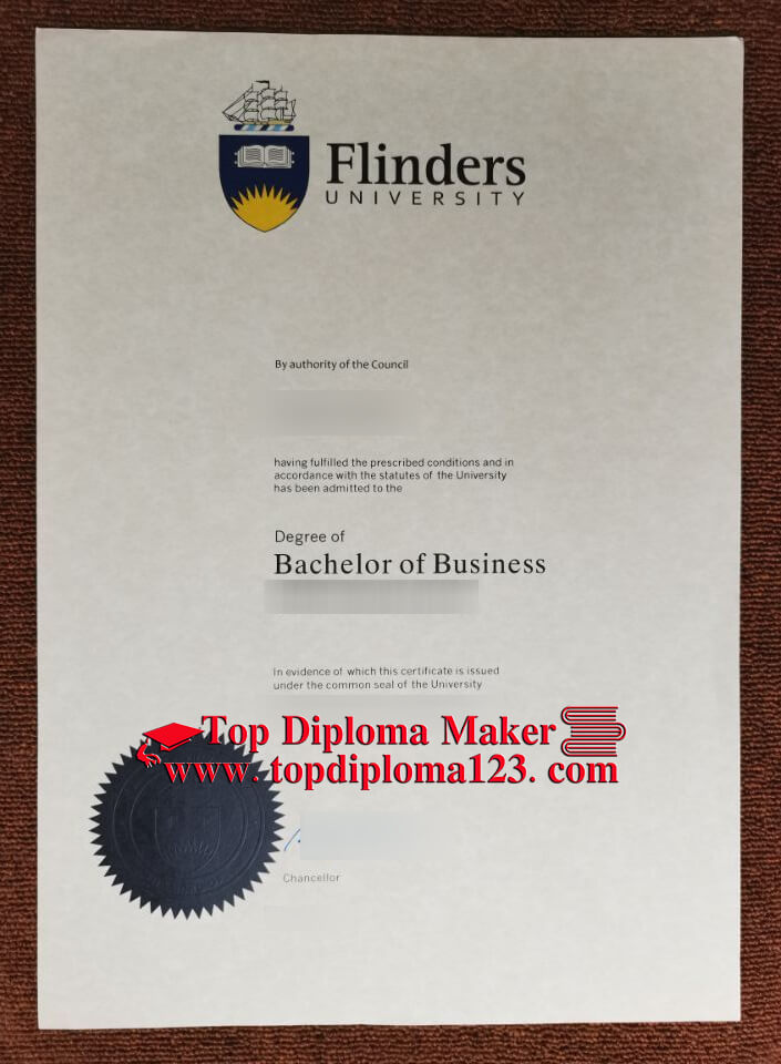Flinders University diploma