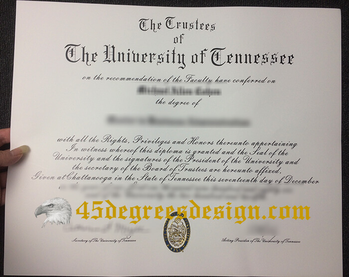 University of Tennessee at Chattanooga diploma