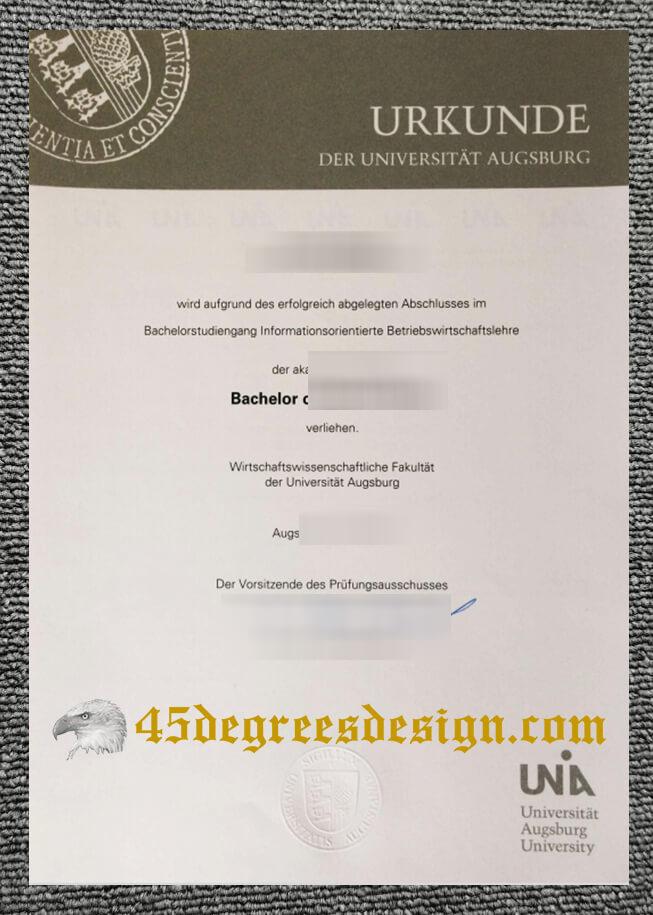 University of Augsburg Urkude