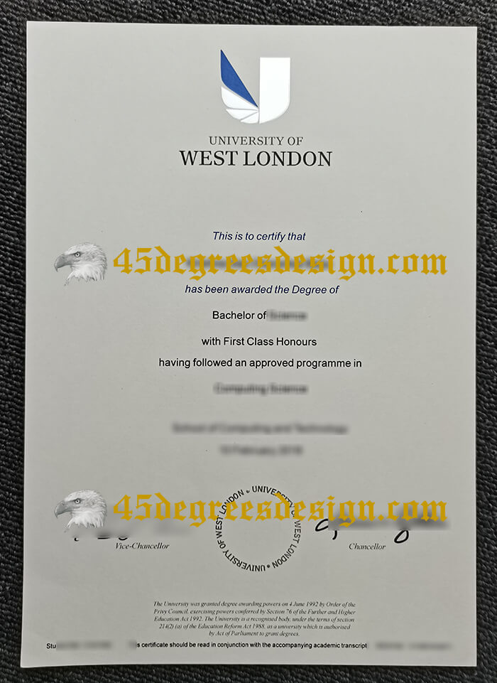 University of West London (UWL) degree