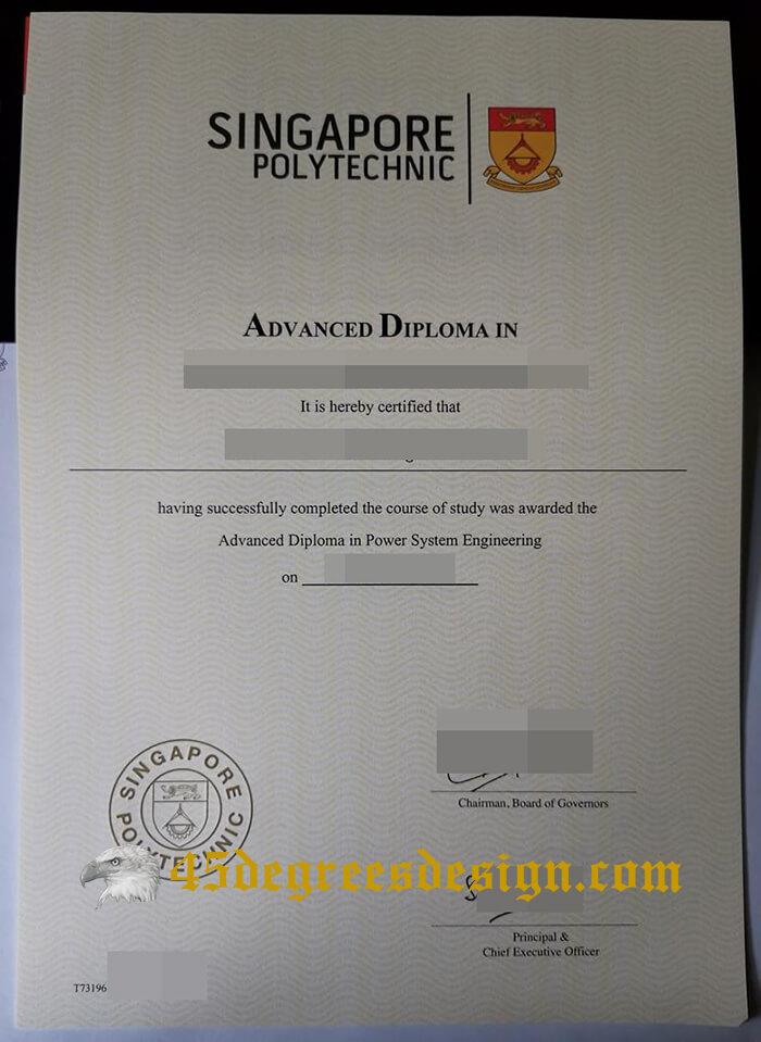 Singapore Polytechnic diploma