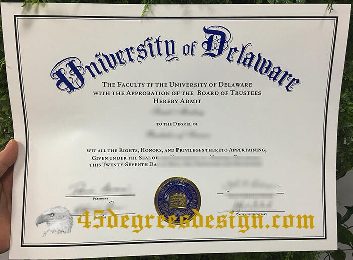 University of Delaware diploma