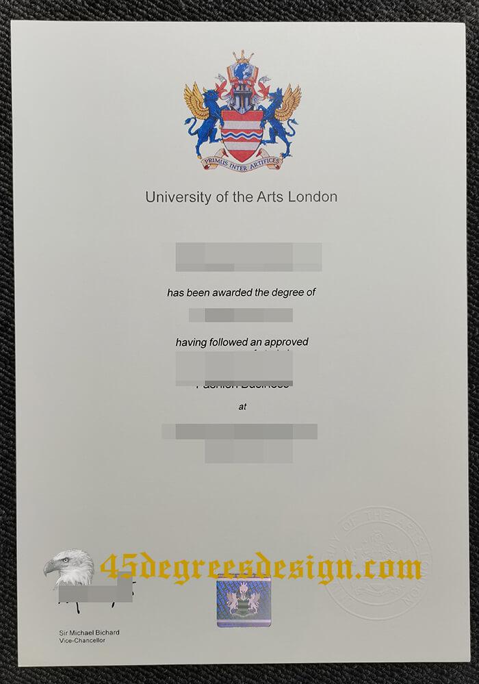 University of the Arts London degree