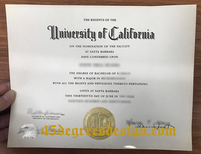 UCSB diploma