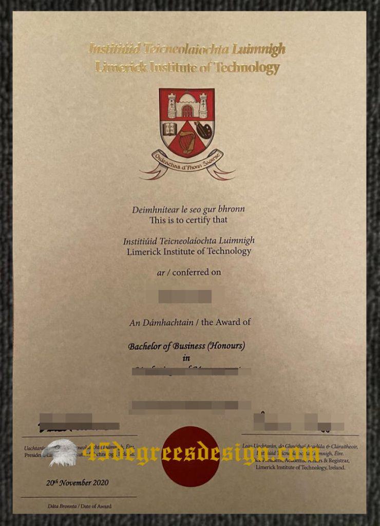 Limerick Institute of Technology degree