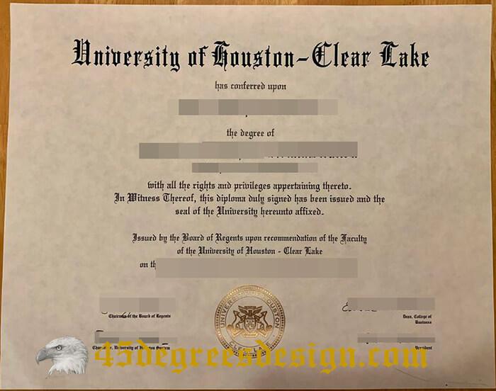 UHCL diploma