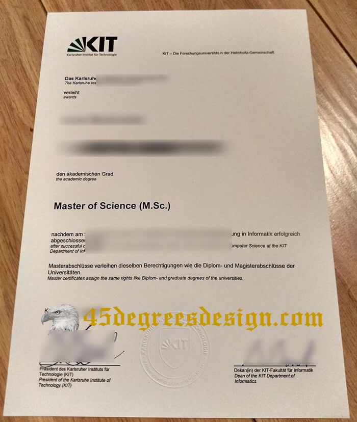 Karlsruhe Institute of Technology diploma
