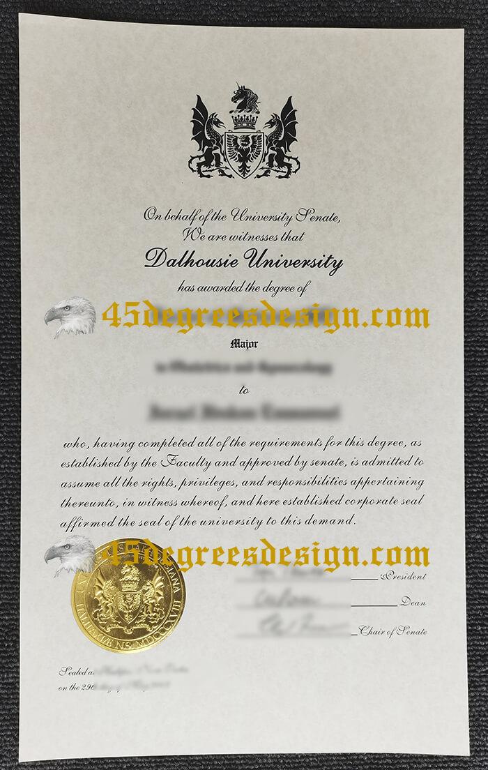 Dalhousie University Diploma