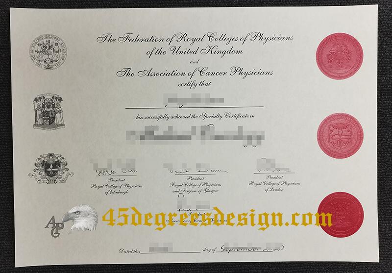 FRCP(UK) Medical geology Certificate