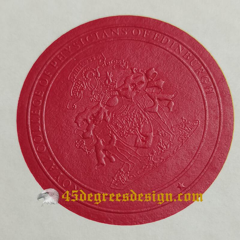 FRCP diploma seal