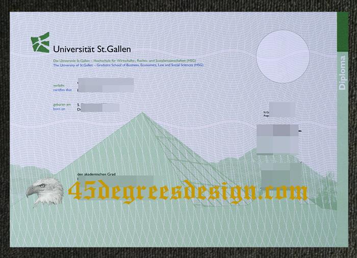 University of St. Gallen diploma