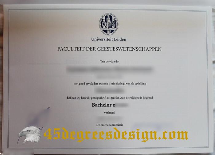 fake Universiteit Leiden diploma