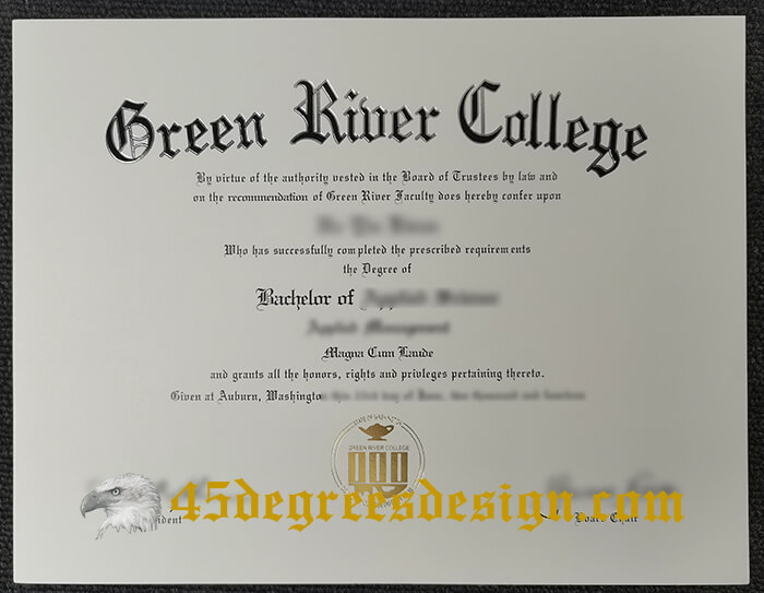 Green River College diploma