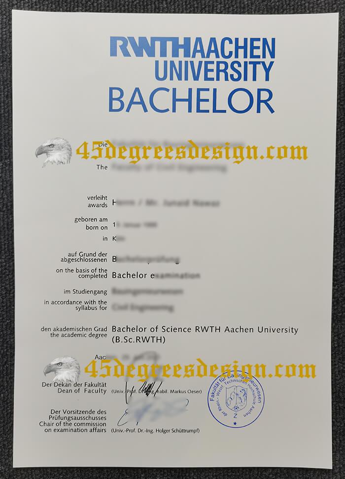 RWTH Aachen University diploma